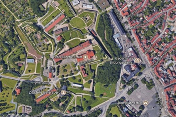 Erfurt – Petersberg